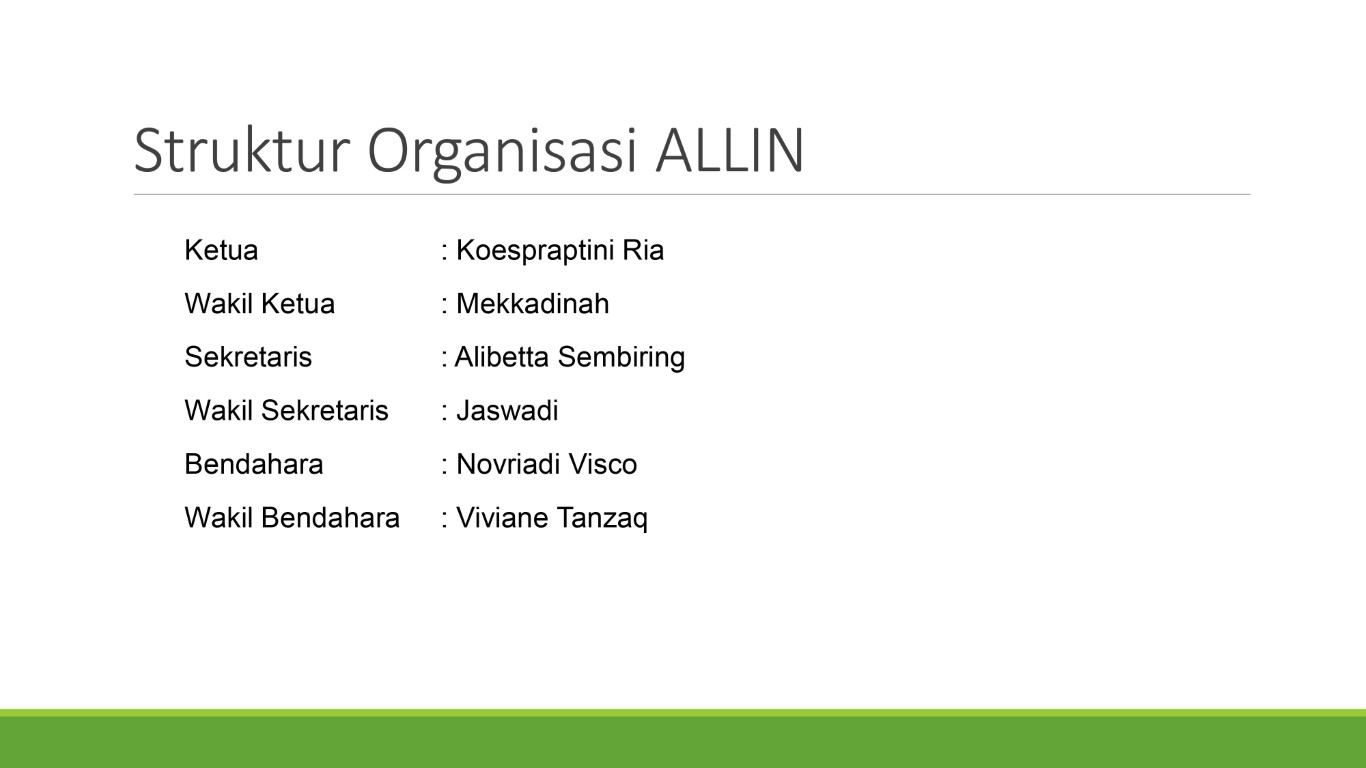 Struktur Organisasi 1