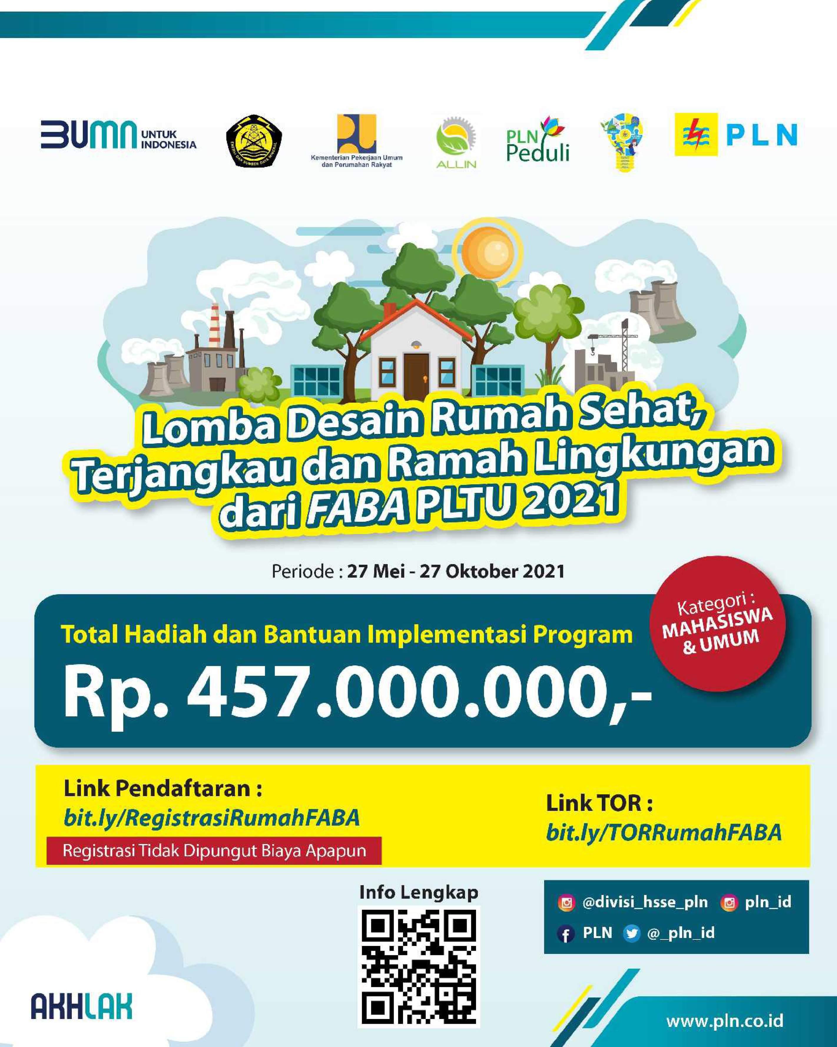 Flyer Lomba Rumah FABA